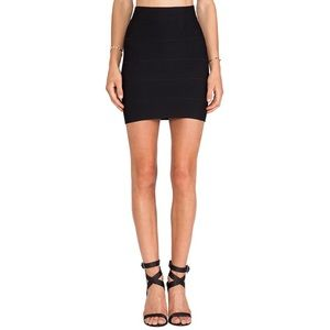 BCBG bandage mini skirt